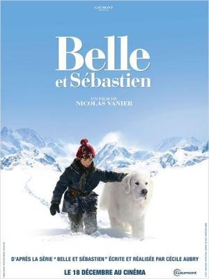 póster de la película Belle y Sebastian