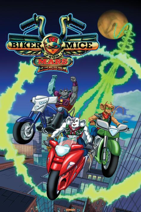 Image gallery for Biker Mice from Mars (TV Series ...