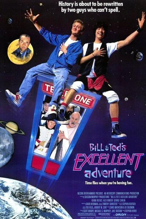 Las alucinantes aventuras de Bill y Ted [Español Latino][1080p][MEGA]