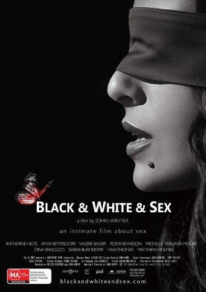 Black on white Foto sex