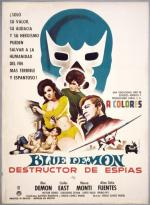 Blue Demon destructor de espías
