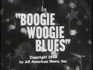 Boogie Woogie Blues (C)