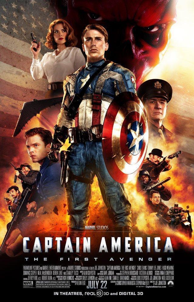 Saga – Capitán América – (2011 hasta 2016) [1080p] [Latino] [Google Drive]