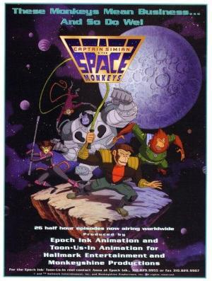 El Capitán Simio y los Monos Espaciales (Serie de TV)