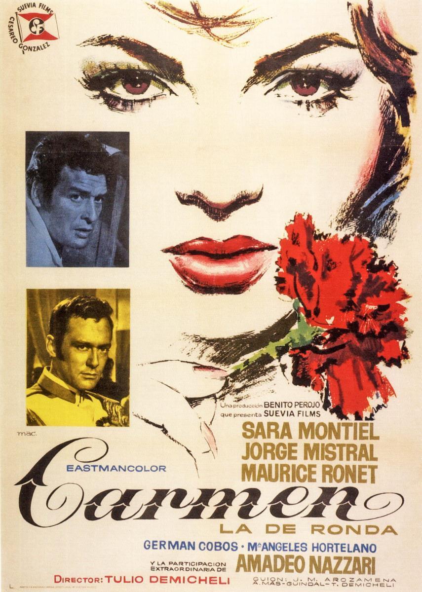 """Resultado de imagen de """"Carmen la de Ronda""""   1959 de Tulio Demicheli"""