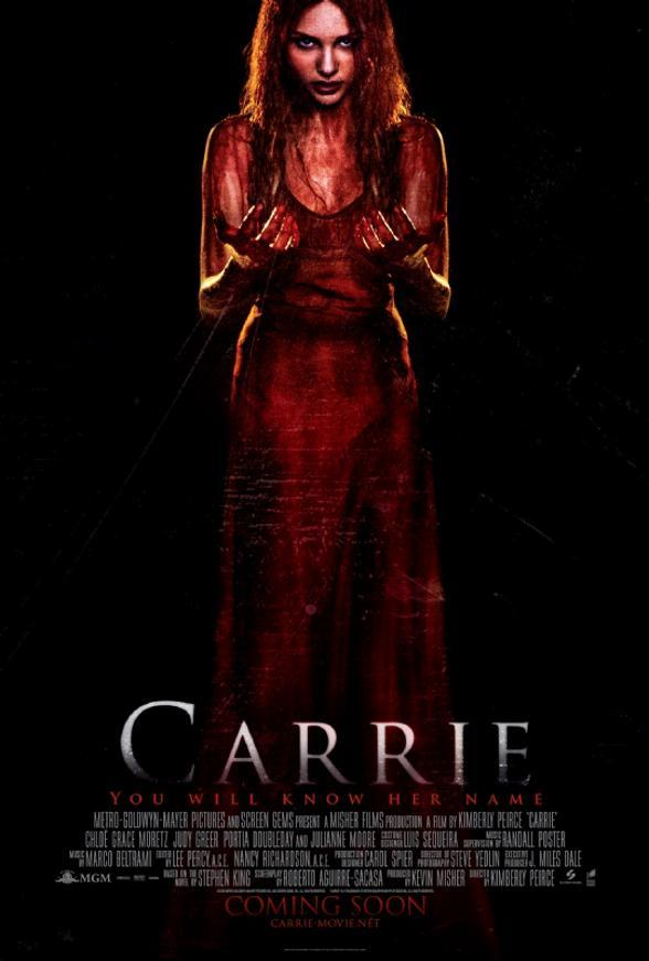 póster de la película de terror Carrie