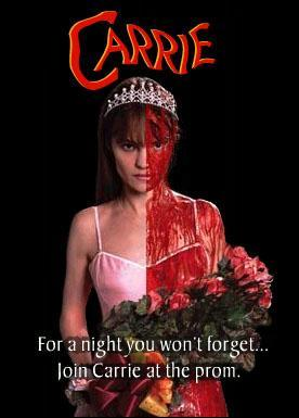 Image result for carrie 2002 movie poster