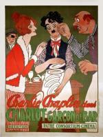 Charlot en el cabaret (Charlot camarero) (C)
