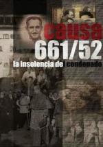 Causa 661/52. La insolencia del condenado