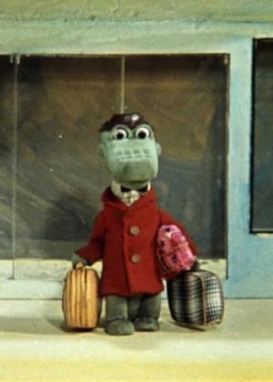 Cheburashka va a la escuela (C)