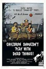 Niños, no jueguen con cosas muertas