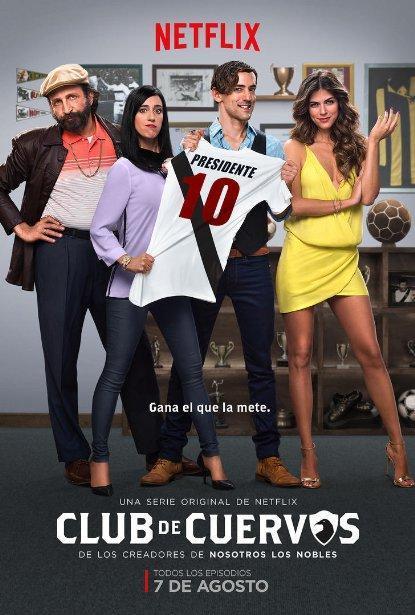 Club De Cuervos Temporada 1 (2015) HD 720p Latino