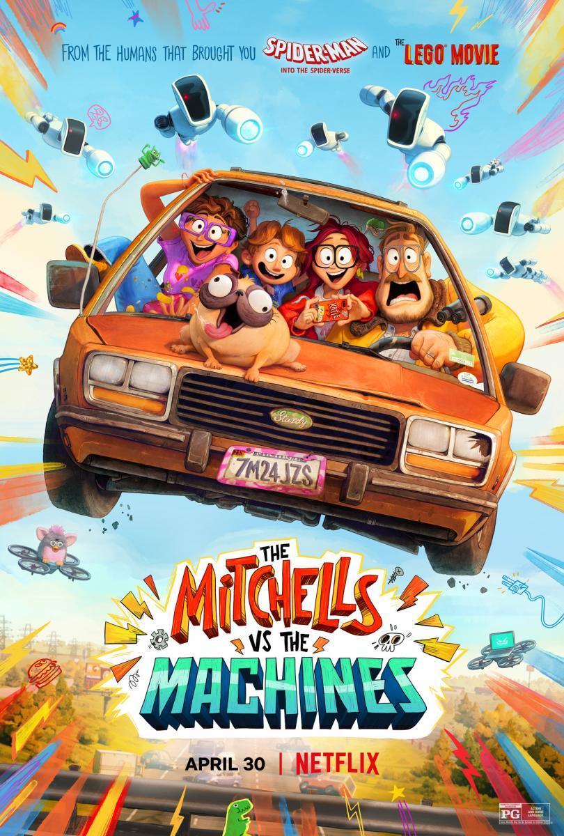 La familia Mitchell vs. las máquinas (2021) - Filmaffinity