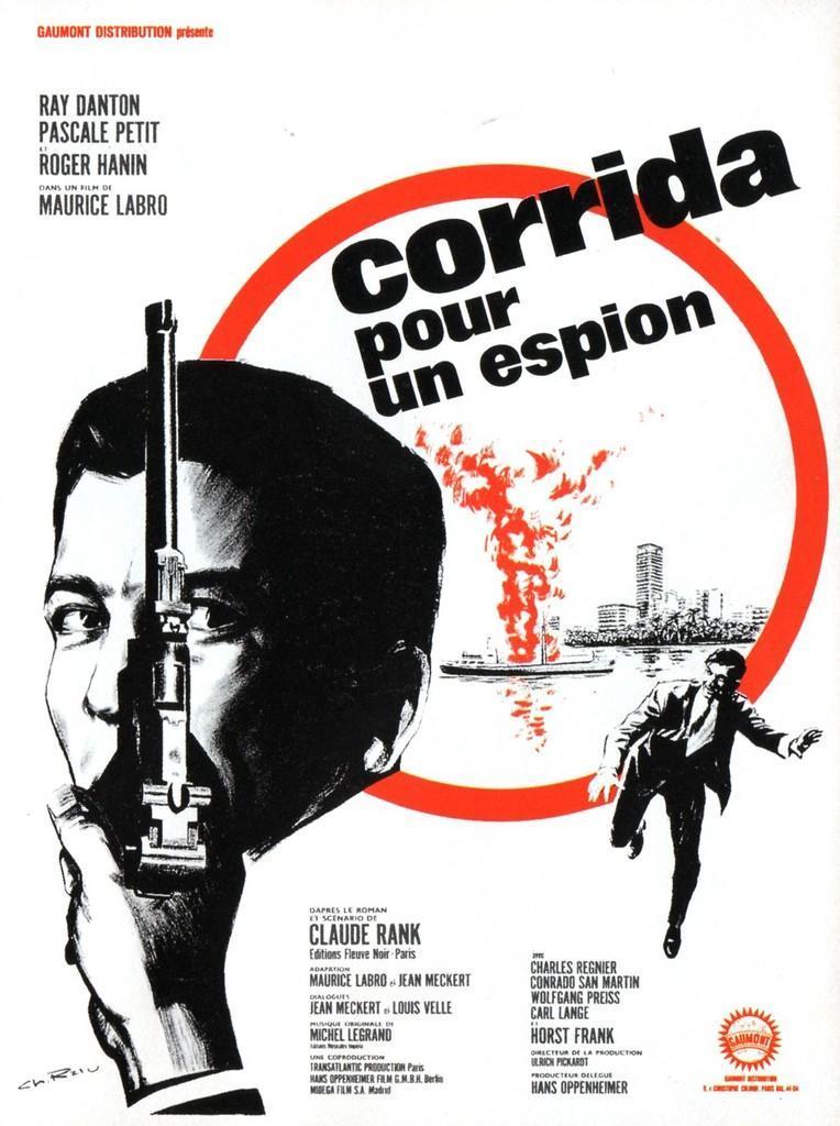 Corrida pour un espion. 1965. Maurice Labro. Corrida_pour_un_espion-487447428-large