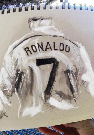 Cristiano Ronaldo: Sketchbook Animation (C)
