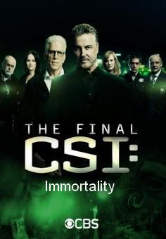 Csi Immortality Tv 2015 Filmaffinity