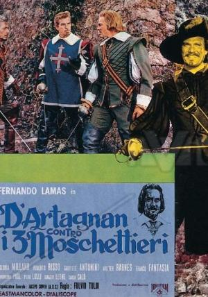D'artagnan contra los tres mosqueteros