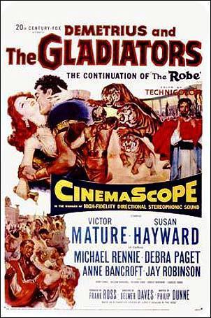 Demetrio el gladiador (1954)