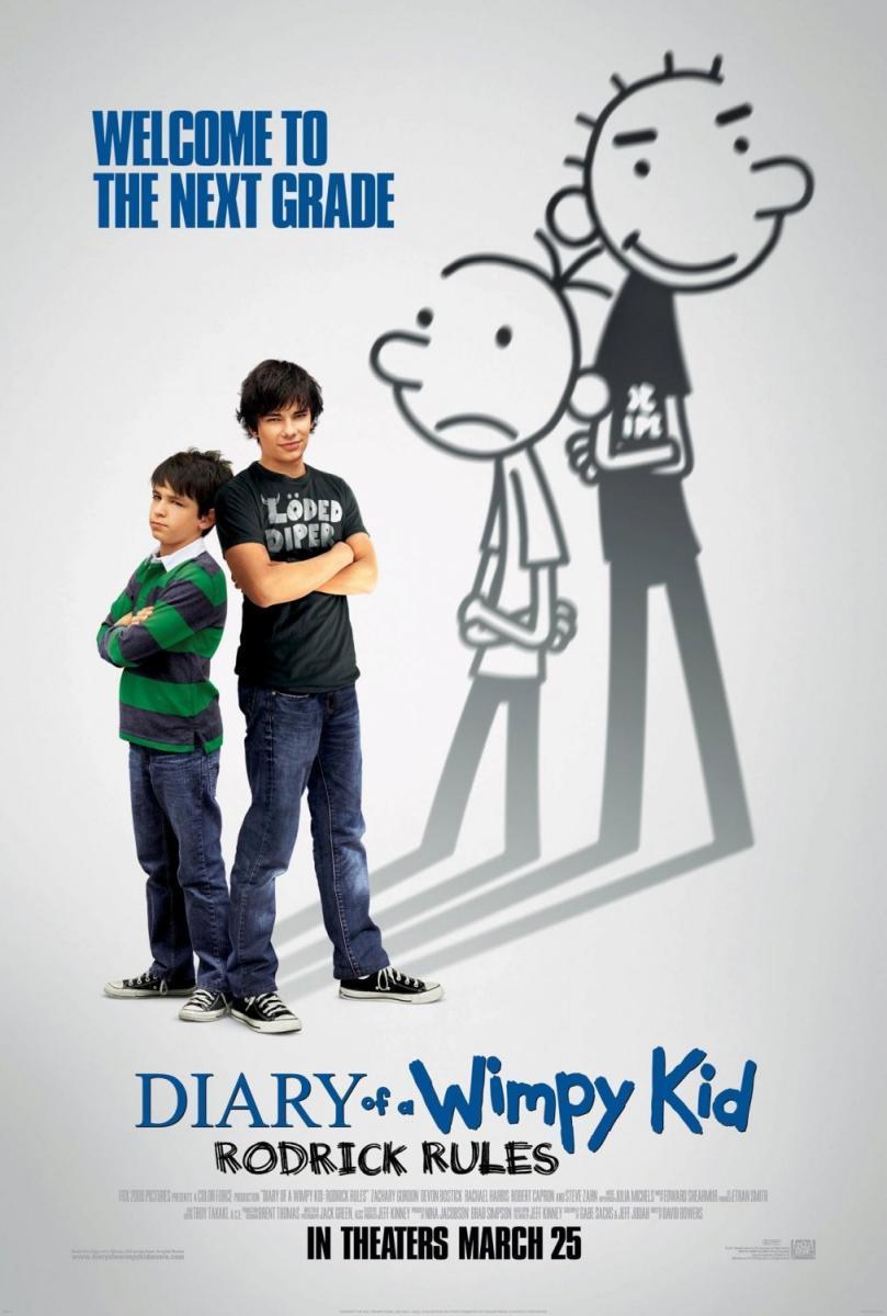 Diary of a Wimpy Kid 2: Rodrick Rules (2011) - FilmAffinity