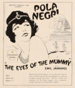 Die Augen der Mumie Ma (Eyes of the Mummy Ma) (The Eyes of the Mummy)