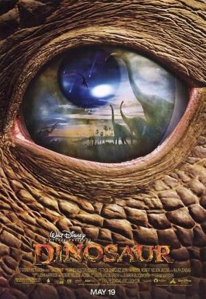 póster de la película de animación dinosaurio