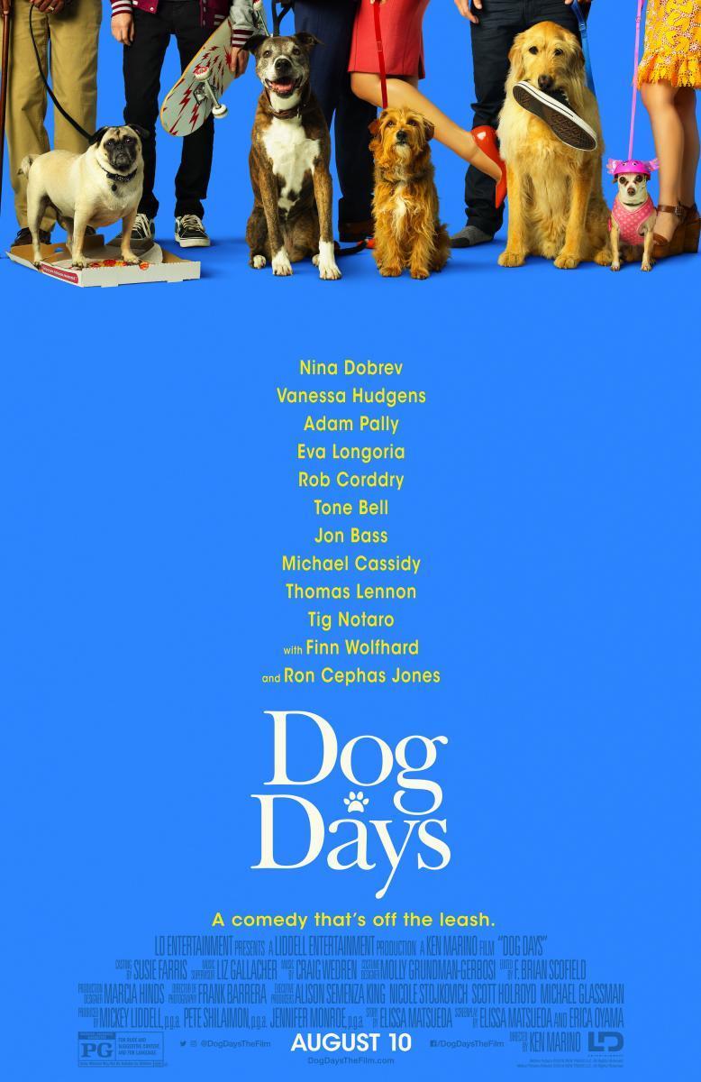 Dog Days [2018][Dual Latino][1080p][MEGA]
