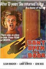 No abras la puerta