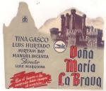 Doña María la Brava