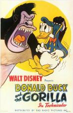 Donald Duck and the Gorilla (S)