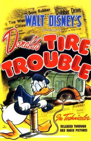 Pato Donald: Parches para ruedas (C)