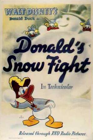 La batalla de nieve de Donald (C)