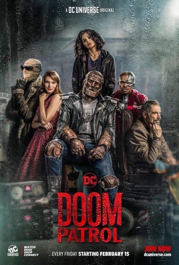 Doom Patrol (Serie de TV) [HQ] [Inglés, Sub Es] [MEGA], 1 Temporada