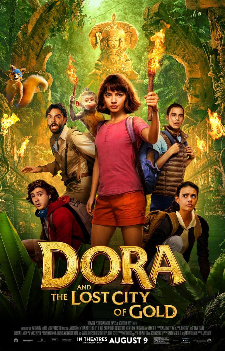 Dora y la Ciudad Perdida [2019][Latino][1080P][MEGA](Link Propio)