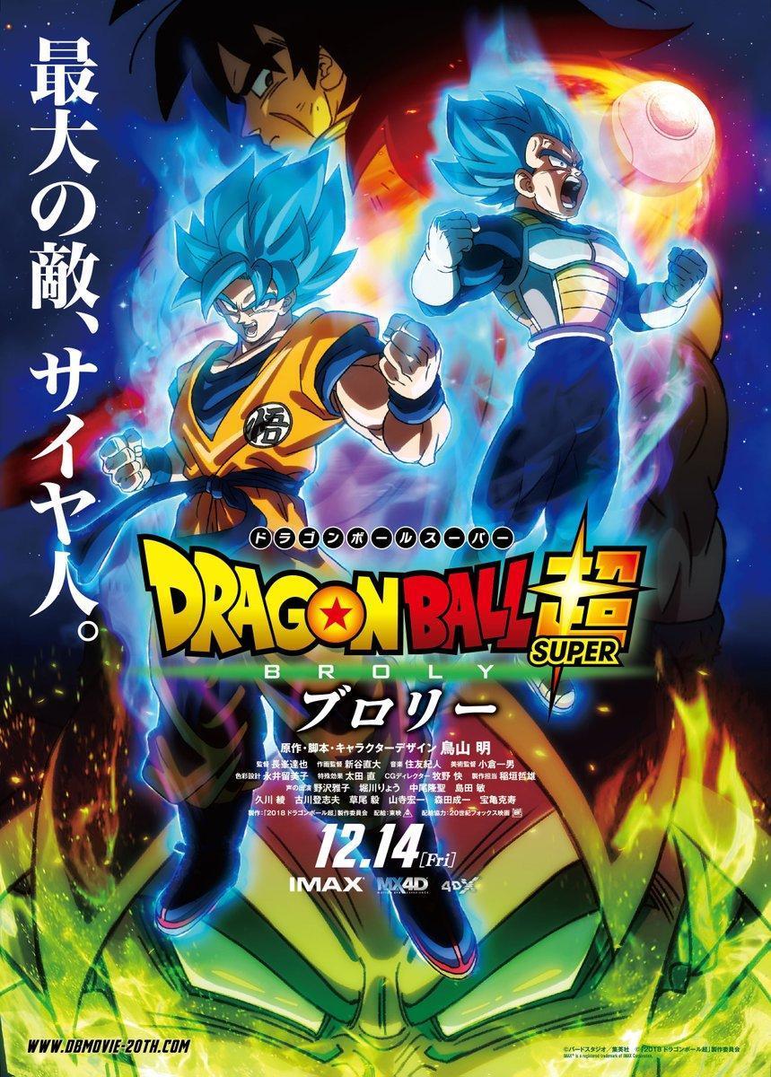 Dragon Ball Super: Broly [2018] [1080p] [Español Latino][GoogleDrive]