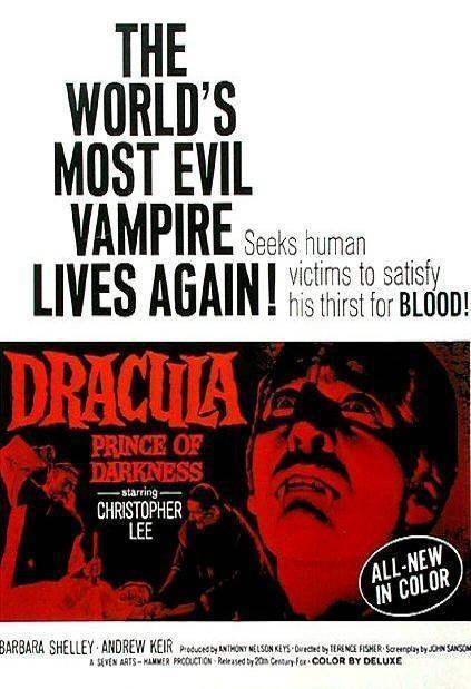 Drácula, príncipe de las tinieblas (1966) 1 LINK Latino HD