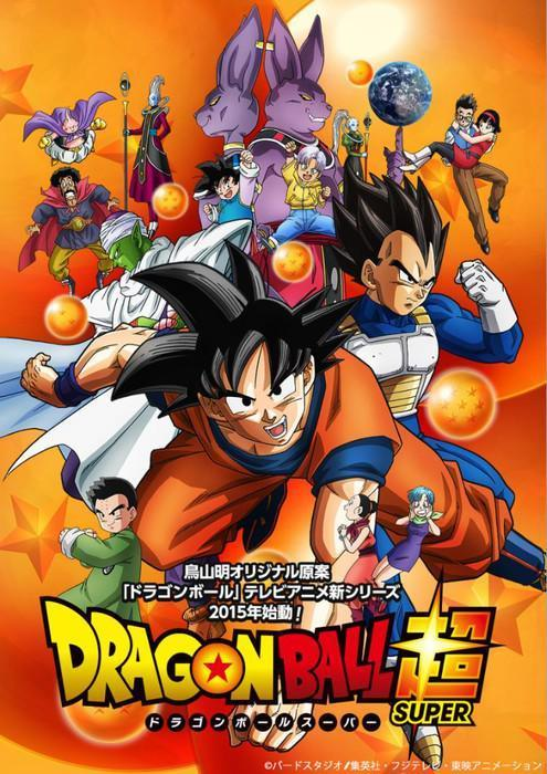 Dragon Ball Super (HD Latino – Japones 720p) 2015