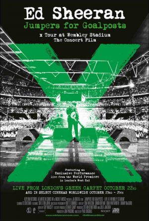 Ed Sheeran: Jumpers for goalpost: X Tour at Wembley Stadium