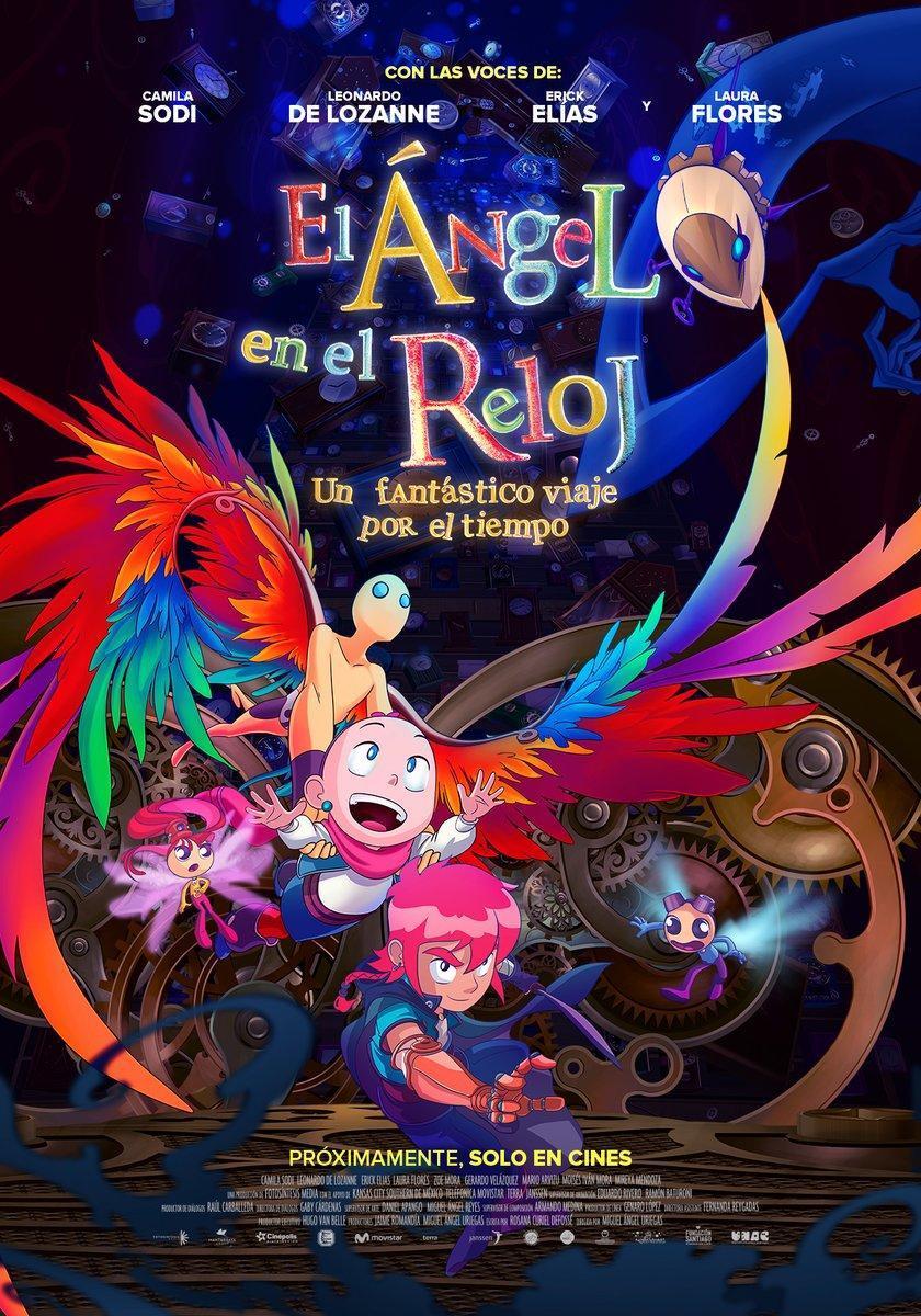 El ángel en el reloj (2017) 1080p Latino Zippyshare