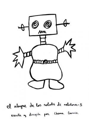 El ataque de los robots de Nebulosa-5 (C)