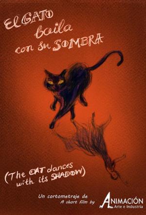 El gato baila con su sombra (C)