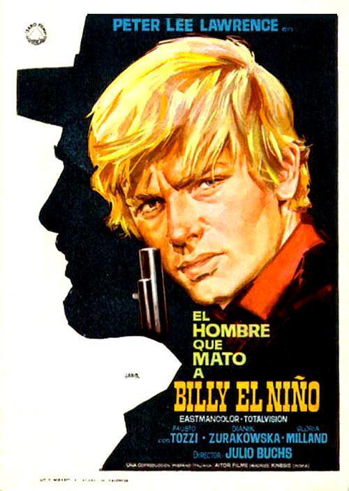 Resultado de imagen de El hombre que mató a Billy el Niño 1967 poster