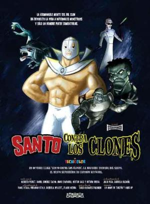 El Santo contra los clones (TV Miniseries)