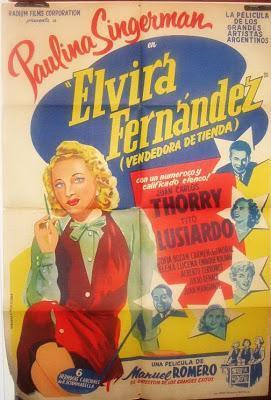 Elvira Fernández, vendedora de tienda