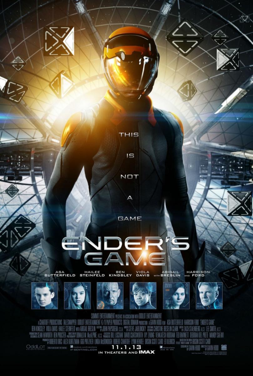 El Juego De Ender (2013) BRRip 720p Latino – Ingles