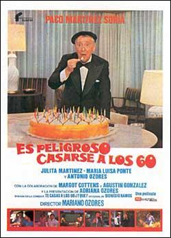 póster de la película Es peligroso casarse a los 60