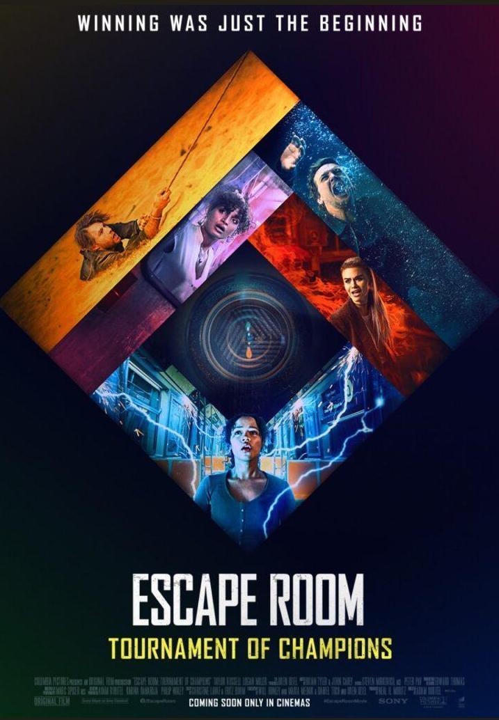 Escape Room: Tournament of Champions 2021 DVDR BD NTSC Sub