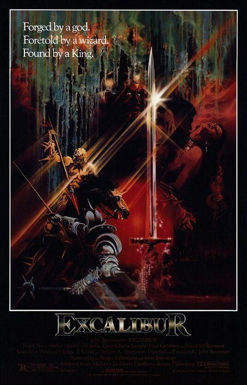 Excalibur (BRRip Latino – Ingles – Castellano 720p) 1981