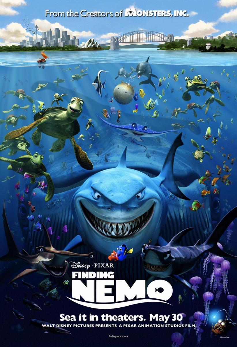 Buscando a Nemo [2003][Esp Mexi][1080p][MEGA]