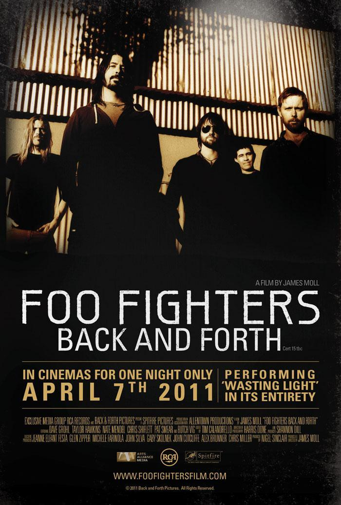 Back And Forth Foo Fighters : foo fighters back and forth 2011 filmaffinity ~ Vivirlamusica.com Haus und Dekorationen