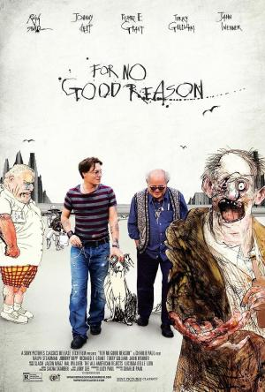 For No Good Reason. Retrato de Ralph Steadman